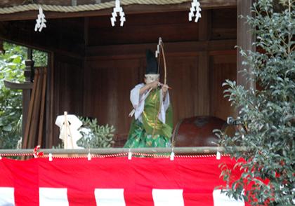 大宝八幡宮の祭と四季(7〜9月)