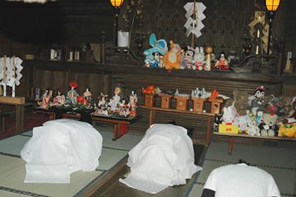 大宝八幡宮の祭と四季(3月)