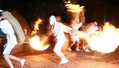 奇祭:松明祭(タバンカ祭)