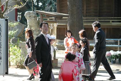 大宝八幡宮の祭と四季(10〜12月)