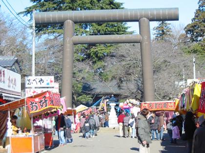 大宝八幡宮の祭と四季(1〜3月)
